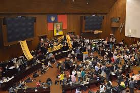taiwan parliament occupied